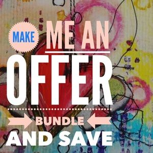 Bundle what you like and make an offer!!!